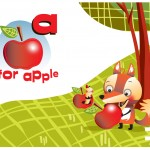 0001 A IS FOR APPLE 1