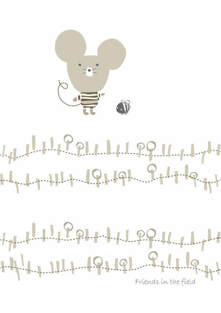 0002 A MOUSE & BEE