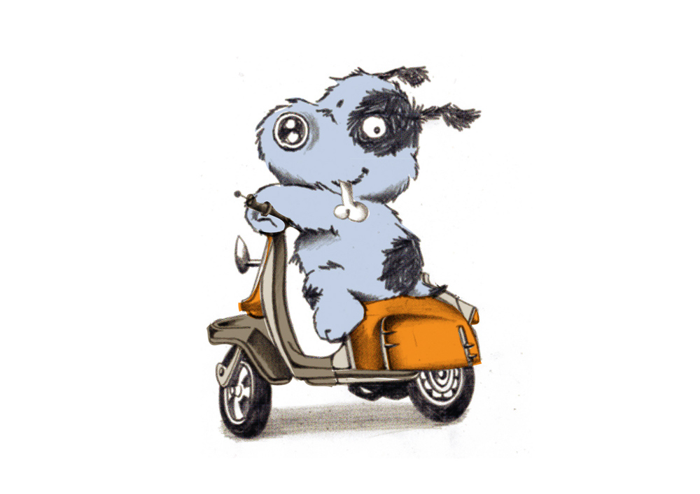 0012 MOPED PUP