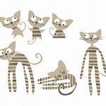 0014 STRIPEY CATS (1)