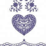0019 HEART EMBROIDERY