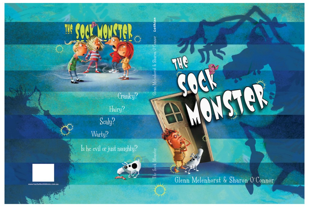 The Sock Monster - Illustrated by Sharon O'Connor & Written by Glenn Melenhorst. Published by Lothian