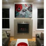 NESTING Acrylic on canvas 121cm x 91cm