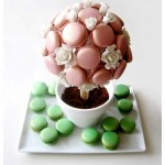 Turkish Delight and Apple Macaron Tree
