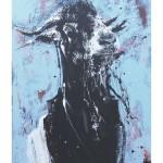 BIFF - Acrylic on Canvas   1150.2cm x 100.1cm $1600 SOLD