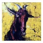 PHYSCO - Acrylic on Canvas  90.1cm x 90.1cm