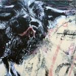 BUFFO - Acrylic on Canvas 150.2cmx100.2cm $1300